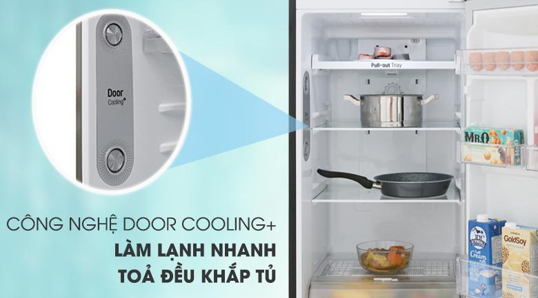Tủ lạnh LG GN-M255BL inverter 255 lít, làm mát từ cửa tủ