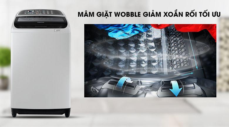 Công nghệ giặt Wobble máy Samsung