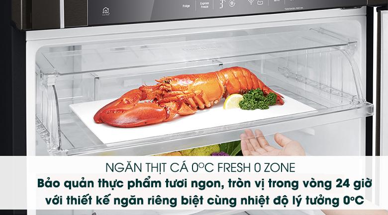 Tủ lạnh LG GN-D602BL inverter 478 lít, bảo quản thực phẩm với ngăn đông mềm
