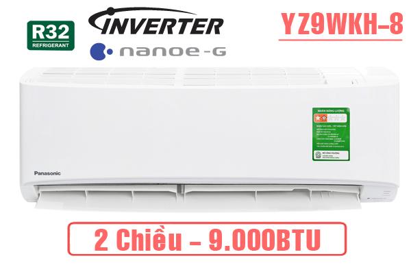 Điều hòa Panasonic 9000btu 2 chiều inverter YZ9WKH-8