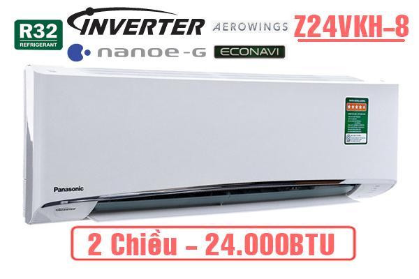 Điều hòa Panasonic 24000btu 2 chiều inverter Z24VKH-8