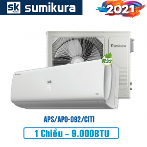 Điều hòa Sumikura 1 chiều 9000btu APS/APO-092/Citi - 2021