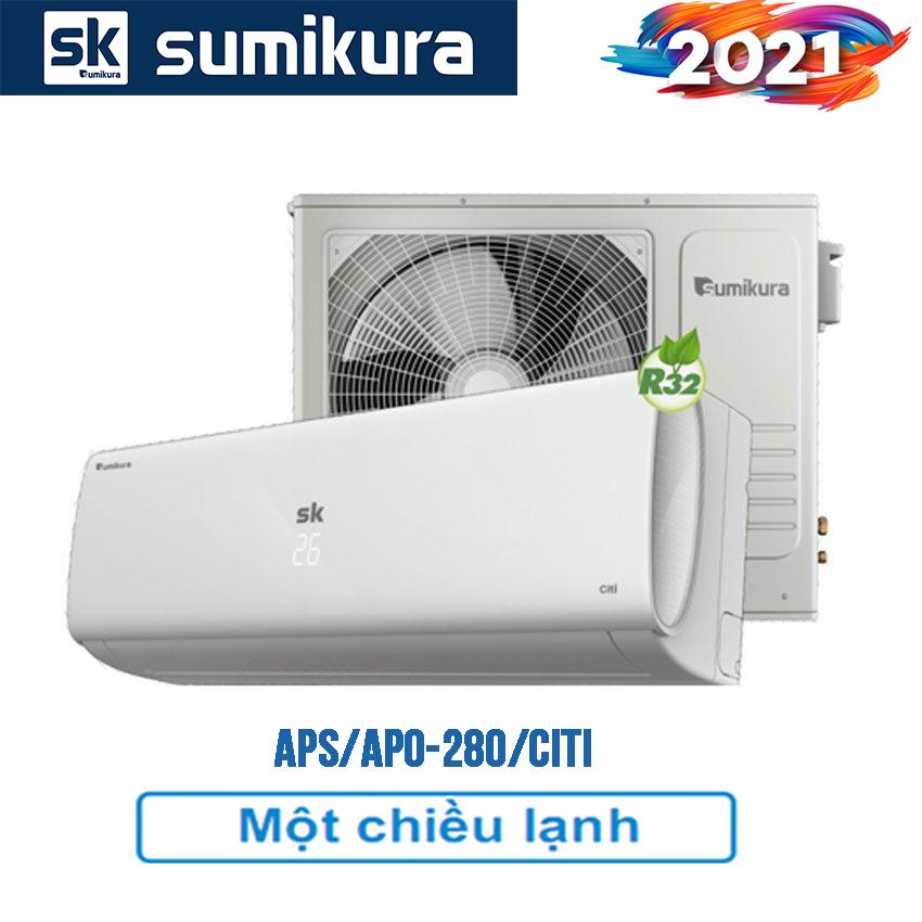 Điều hòa Sumikura APS/APO-280/Citi 1 chiều 28000btu