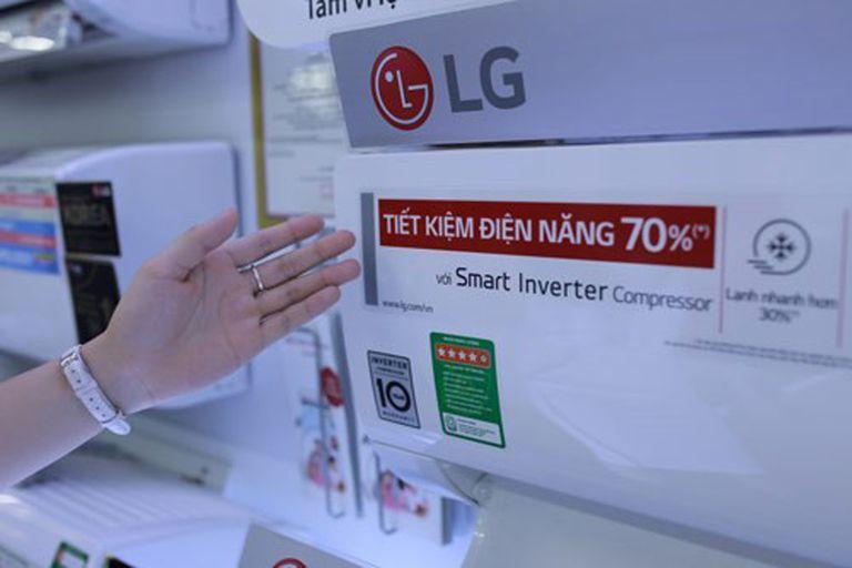 Ưu điểm của công nghệ Smart inverter trên máy điều hòa LG đem lại