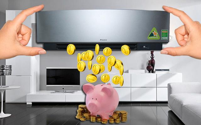 Điều hòa inverter tiết kiệm chi tiêu