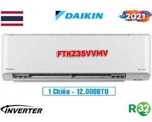 Điều hòa Daikin 12000BTU 1 chiều inverter FTKZ35VVMV