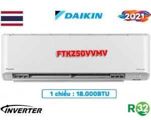 Điều hòa Daikin 18000BTU 1 chiều inverter FTKZ50VVMV