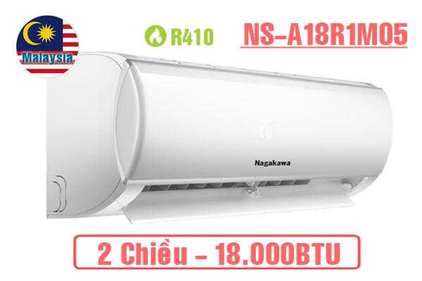 Điều hòa Nagakawa NS-A18R1M05 2 chiều 18.000BTU