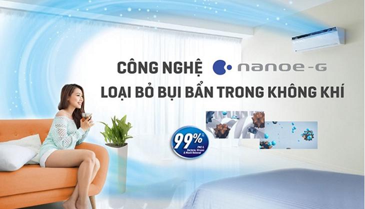 Công nghệ NanoeX trên máy lạnh Panasonic là gì?