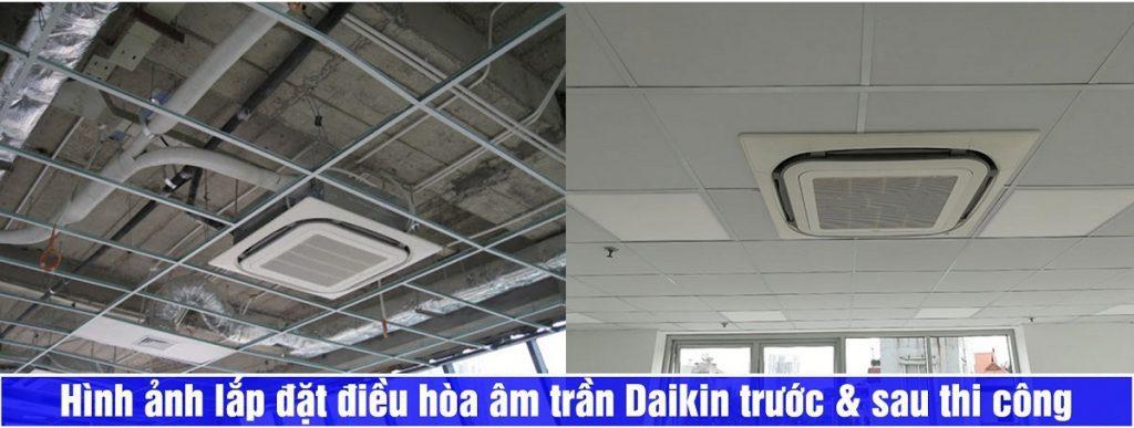 Điện lạnh Thịnh Phát thi công điều hòa âm trần Daikin 1