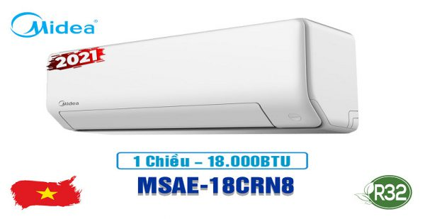 Điều hòa Midea MSAE-18CRN8, công suất 18000BTU