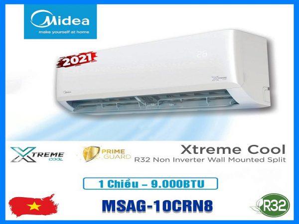 Điều hòa Midea 9000btu 1 chiều MSAG-10CRN8