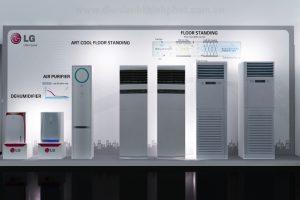 Điều hòa tủ đứng LG thương hiệu điều hòa bán chạy top 3 trên thị trường