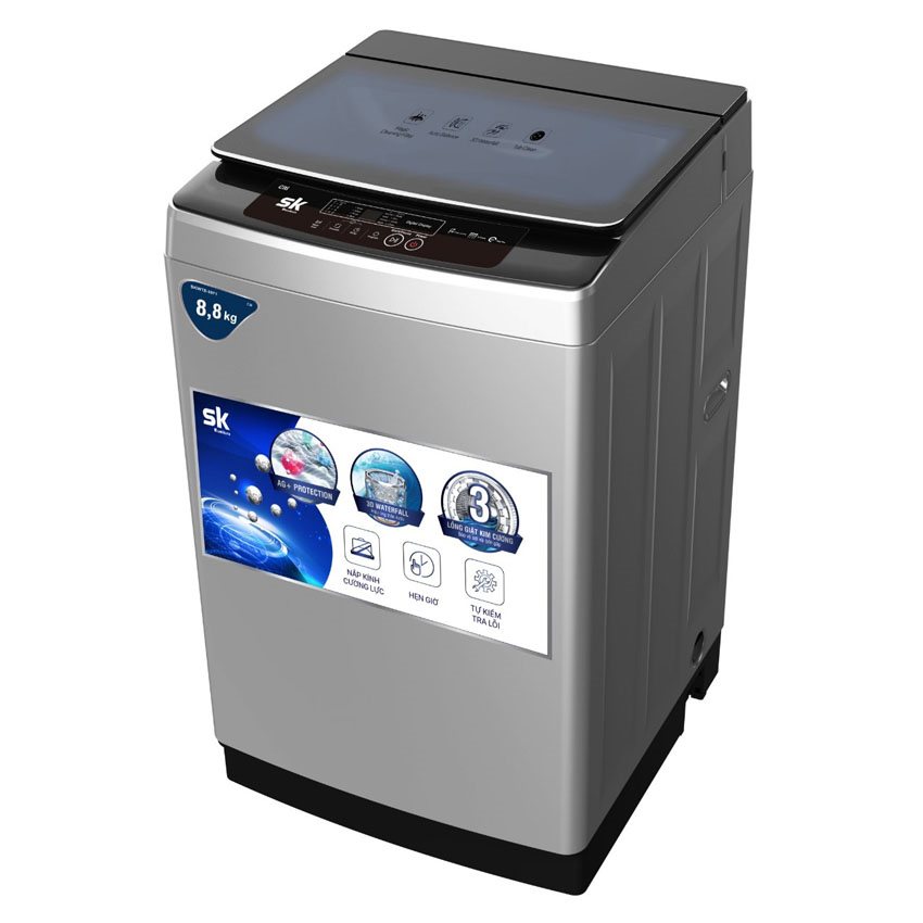 Máy giặt Sumikura SKWTB-108P1/CITI lồng đứng (10.8 KG)