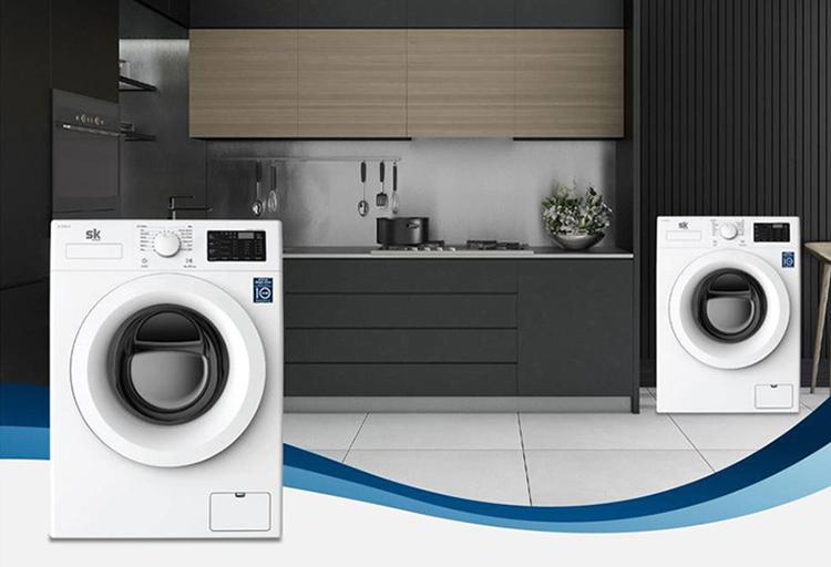 Máy giặt Sumikura Inverter SKWFID-88P1 Y/G lồng ngang (8.8KG)