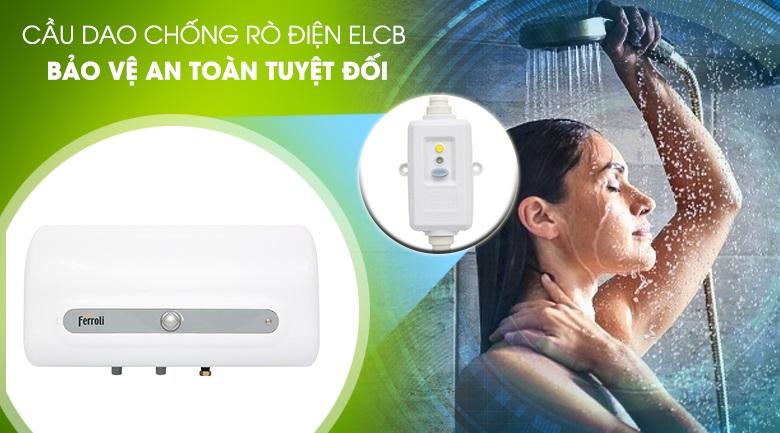 Ferroli QQ20TE chống rò điện ELCB