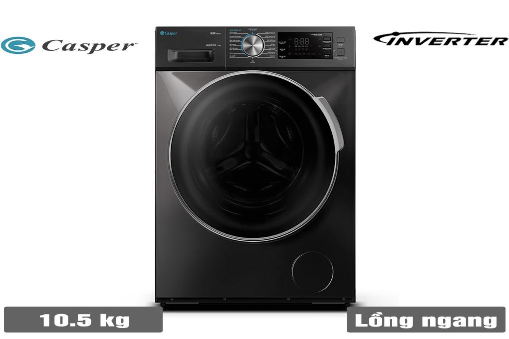 Máy giặt Casper WF-105I150BGB 10.5KG lồng ngang