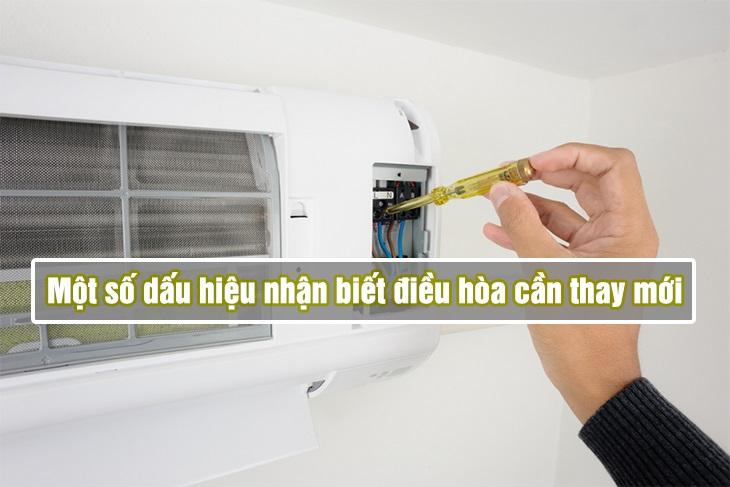 Một số dấu hiệu nhận biết máy điều hòa nhà bạn cần được thay mới