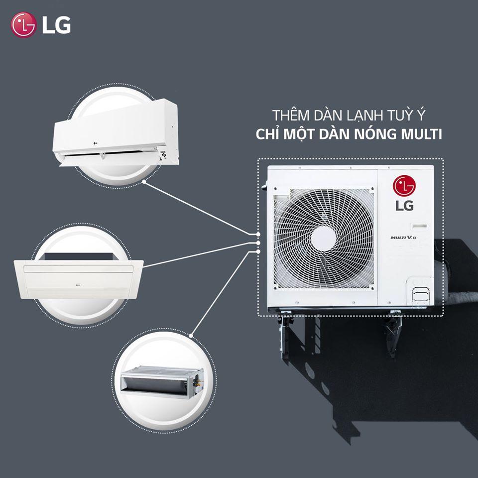 Có nên dùng điều hòa multi LG cho nhà biệt thự?