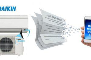 Hướng dẫn kích hoạt và tra cứu bảo hành điện tử điều hòa Daikin