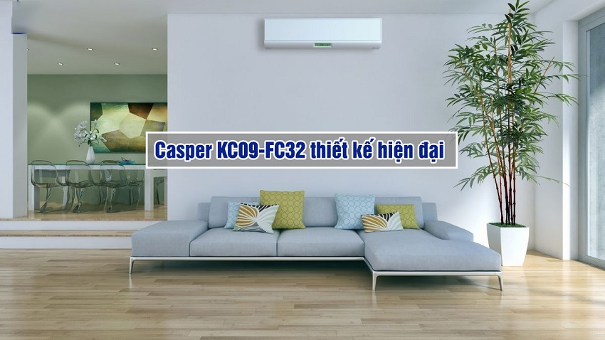 may-lanh-casper-KC-09FC32-thiet-ke-bat-mat-thong-minh