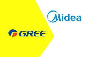 So sánh điều hòa Midea và điều hòa Gree, thương hiệu nào tốt hơn ?