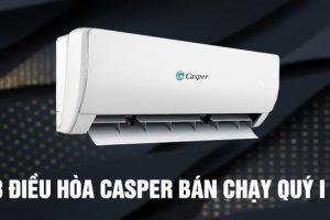 Top 3 máy điều hòa Casper 9000btu bán chạy nhất tháng 4/2021
