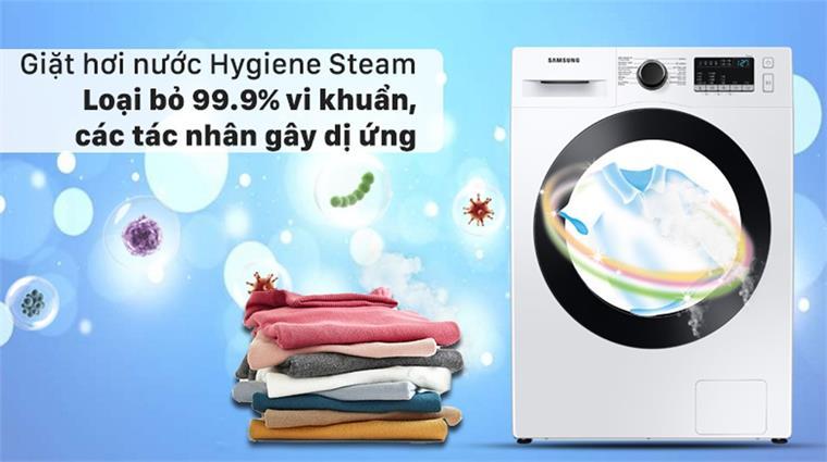 Máy giặt WW85T4040CE/SV, giặt hơi nước