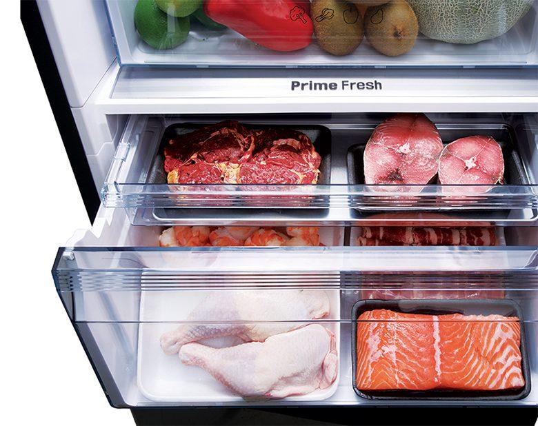 Tủ lạnh Panasonic NR-BX410QKVN Inverter 368L, ngăn đông mềm