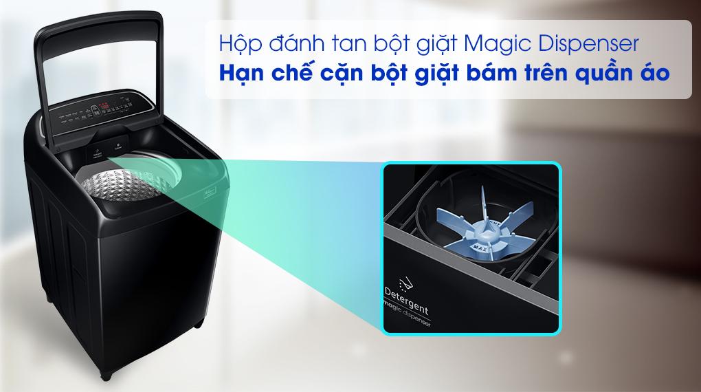 Máy giặt Samsung WA10T5260BV/SV, hộc chứa bột giặt