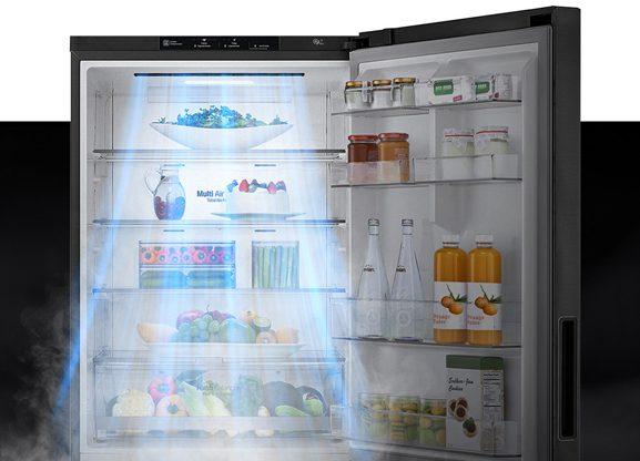 Tủ lạnh LG GR-D305PS Inverter 305 lít,  door cooling