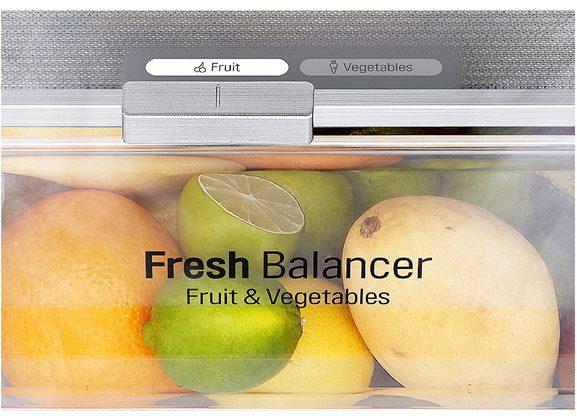 Tủ lạnh LG GR-D305PS Inverter 305 lít, cân bằng độ ẩm