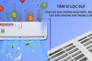So sánh công nghệ kháng khuẩn khử mùi điều hòa LG và Casper