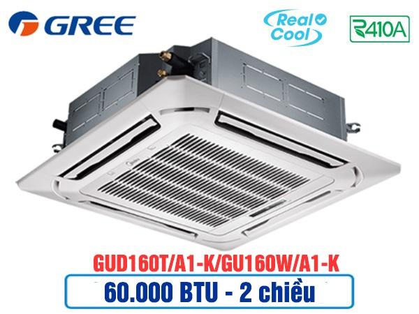 Điều hòa âm trần Gree GUD160T/A1-K/GU160W/A1-K 2 chiều thường