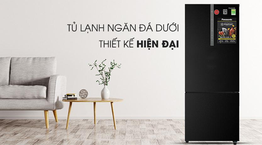 Tủ lạnh Panasonic Inverter 410L NR-BX460GKVN, sang trọng