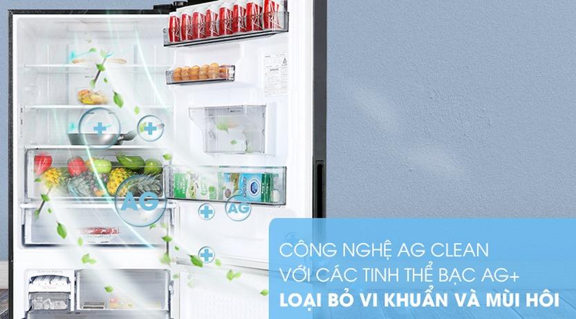 Tủ lạnh Panasonic NR-BX460XKVN Inverter 410L, kháng khuẩn