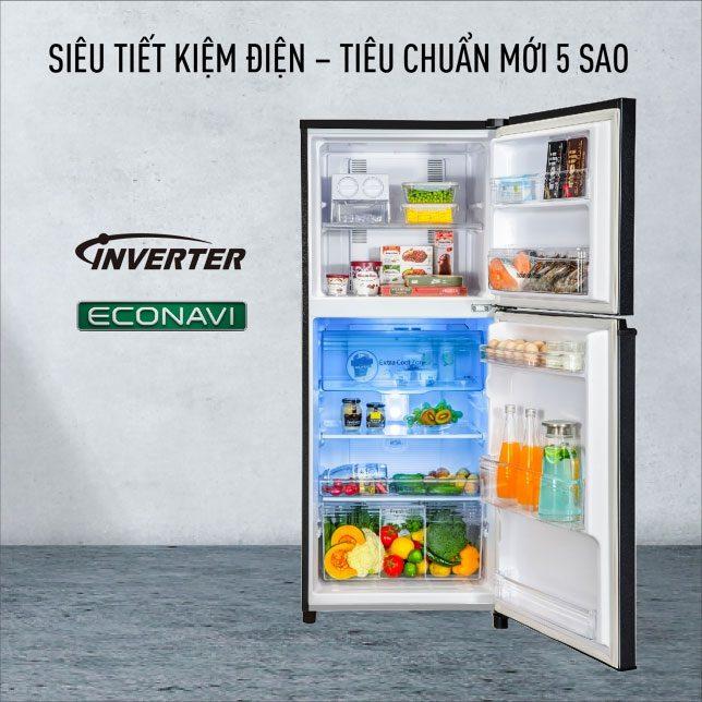 Tủ Lạnh Panasonic NR-TL381BPKV Inverter 366L, tiết kiệm điện