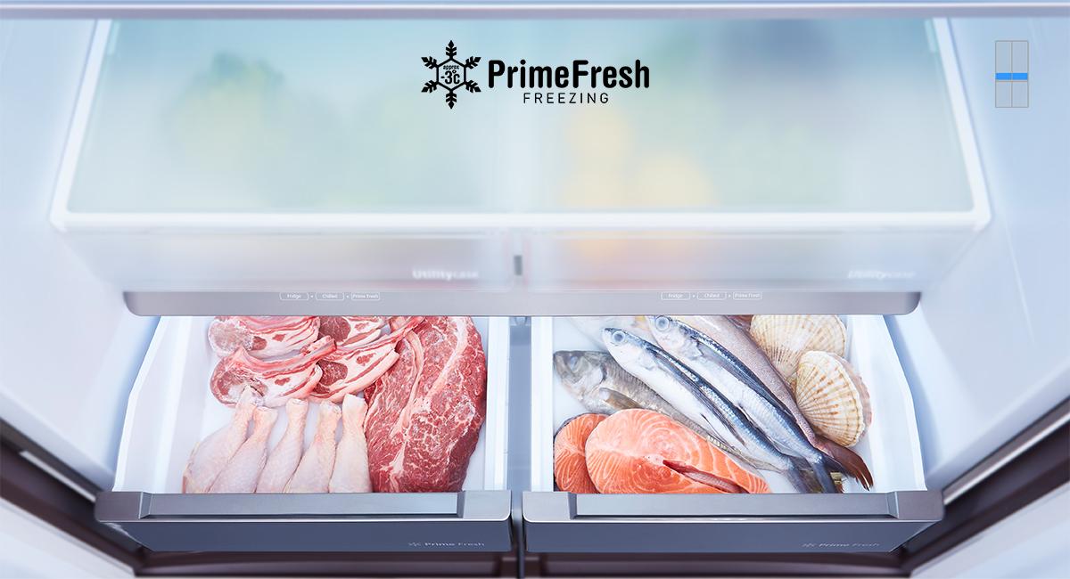 Tủ lạnh Panasonic NR-W631VC-T2 inverter 628L, đông mềm