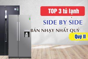 Top 3 tủ lạnh Side By Side LG nên mua tháng 6/2021 tại Thịnh Phát