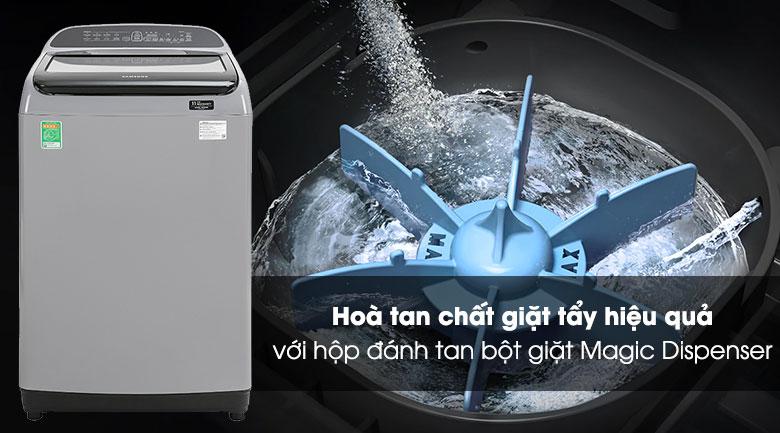Máy giặt Samsung WA85T5160BY/SV Inverter lồng đứng 8.5kg, hộp đựng bột giặt