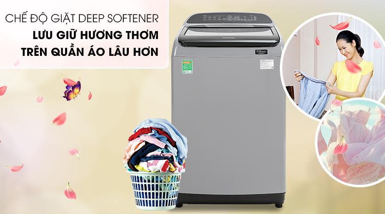 Máy giặt Samsung WA85T5160BY/SV Inverter lồng đứng 8.5kg, giặt lưu hương