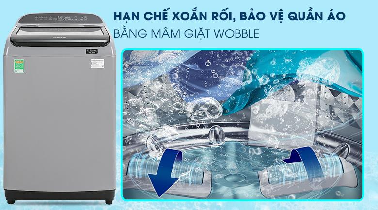 Máy giặt Samsung WA85T5160BY/SV Inverter lồng đứng 8.5kg, chống xoắn rối quần áo