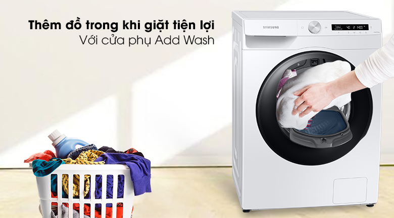 Cửa phụ tiện lợi Máy giặt WW85T554DAW/SV