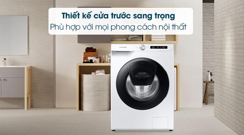 Máy giặt WW85T554DAW/SV, hiện đại