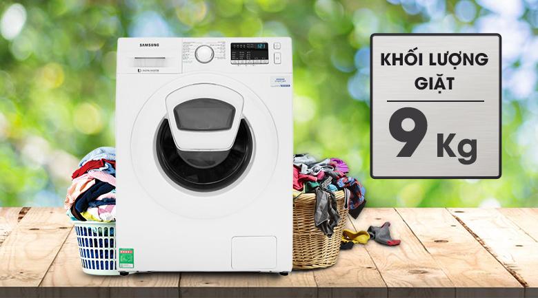 Máy giặt Samsung WW90K44G0YW/SV lồng ngang Inverter 9Kg