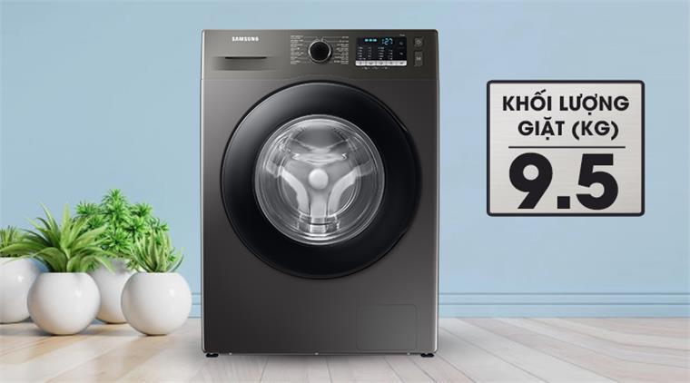 Máy giặt Samsung WW95TA046AX/SV lồng ngang Inverter 9.5kg