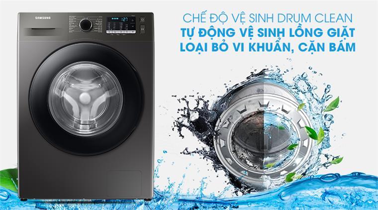 Máy giặt Samsung WW95TA046AX/SV lồng ngang Inverter 9.5kg, tự vệ sinh lồng giặt