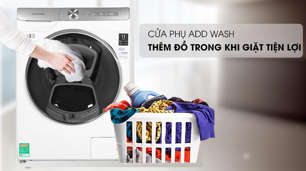 Máy giặt Samsung WW90TP54DSH/SV , cửa phụ thông minh