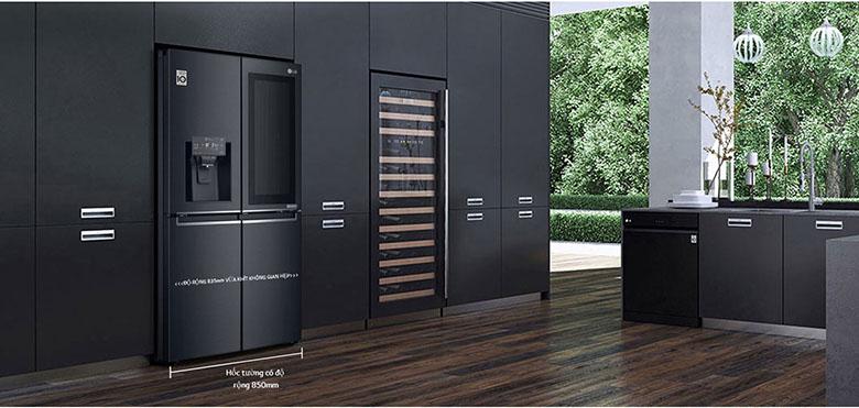 Tủ lạnh LG GR-X22MC inverter 496 lít, sang trọng hiện đại