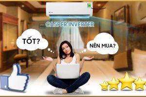 Điều hòa Casper inverter có tiết kiệm điện không?